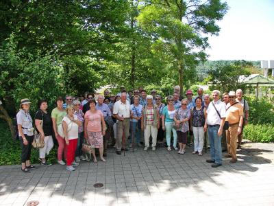 Foto zur Meldung: Tagesausflug zur Landesanstalt für Garten- und Weinbau.
