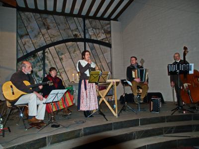 Foto zur Meldung: Adventskonzert mit der Oberpfälzer Grenzgangmusik