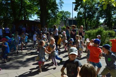 Foto zur Meldung: Leserbrief Sportkita Falkennest: 10-jähriges Jubiläum