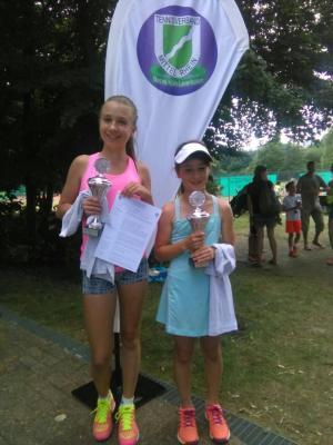 Alessia Radu und Amelie Khanlarov