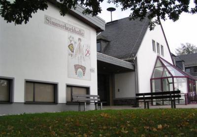 Foto zu Meldung: Arbeiten in der Simmerbachhalle und im Gemeindehaus