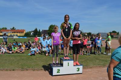 Foto zur Meldung: 20. Kinder- und Jugendsportspiele des Landkreises OSL im LA -Dreikampf 15.06.2017