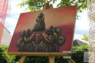 Foto zur Meldung: Kleines Dorf - große Kunst