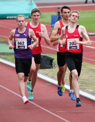 Foto zur Meldung: Dennis Gerhard Siebter bei Deutschen Meisterschaften