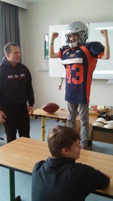 Foto zu Meldung: Griffins machen Schule