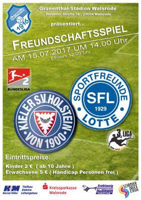 """Foto zur Meldung: Freundschaftsspiel - """"Störche gegen DFB-Pokal-Viertelfinalist!"""" im Grünenthal"""