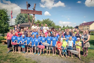 Foto zur Meldung: Erlebnisreicher Tag im Freizeitcamp-Werra