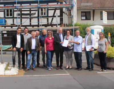 Vorschaubild zur Meldung: Dorferneuerung Wächtersbach – Stadtteil Neudorf: 87.366 Euro für Neugestaltung des Dorfplatzes