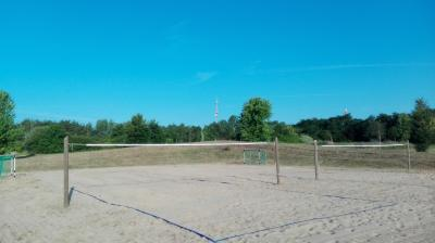 Vorschaubild zur Meldung: Neu in Belgern Beachvolleyball-Plätze und einen Beachsoccer-Platz.