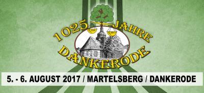 Vorschaubild zur Meldung: Programm zur 1025 Jahrfeier Dankerode