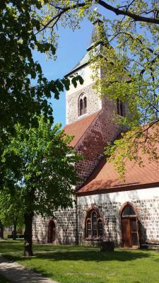Foto zur Meldung: Altlandsberger Stadtkirche ist Denkmal des Monats Juni