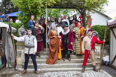 Vorschaubild zur Meldung: Impressionen vom Burgfest  Burg Creuzburg 2017