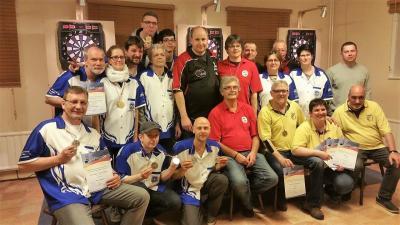Foto zur Meldung: Landesmeisterschaften im Dart