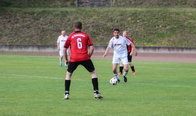 Foto zur Meldung: Demminer Derby in Ü 35 Sommerrunde
