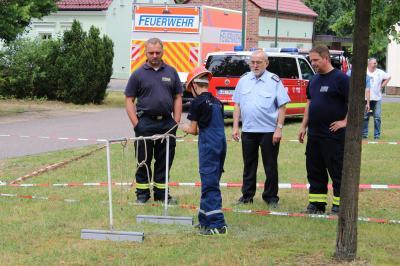 Foto zur Meldung: Amtsausscheid der Feuerwehren des Amtes