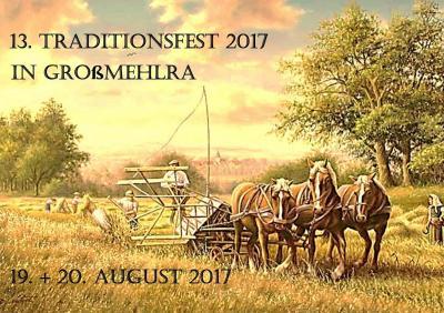 Vorschaubild zur Meldung: 13. Traditionsfest in Großmehlra