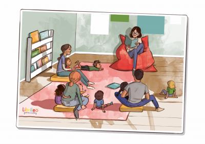 Vorschaubild zur Meldung: Ehrenamtliche VorleserInnen gesucht, die kleine Zuhörer für die Welt der Bücher und Geschichten begeistern
