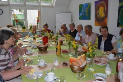 Foto zur Meldung: Gemeinsam statt einsam frühstücken tut gut