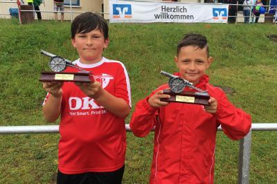 Foto zur Meldung: Junioren / Top-Torschützen der Saison kommen vom Plauer FC
