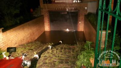 Vorschaubild zur Meldung: Überörtliche Hilfe in Oranienburg zur Unwetterschadensbeseitigung
