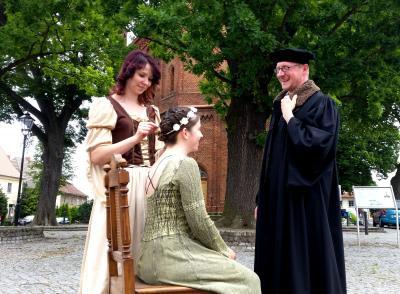 Foto zur Meldung: Vorfreude auf das Lutherkinderfest in Niemegk - Spielen und basteln wie zu Luthers Zeiten