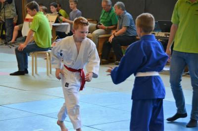 Foto zur Meldung: Sein erster Wettkampf