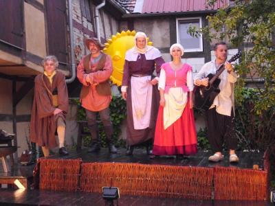 Foto zur Meldung: Sommertheater im Regen war vom Feinsten