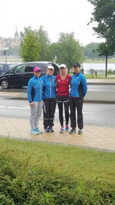 Foto zur Meldung: Fünf-Seen-Lauf in Schwerin mit starken Laager Frauen