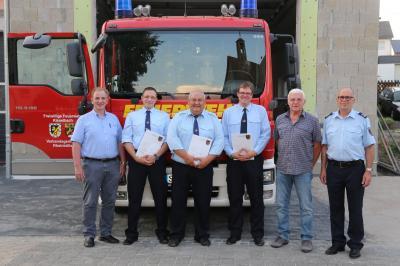 Foto zu Meldung: FFw Kisselbach wählt neuen Wehrführer