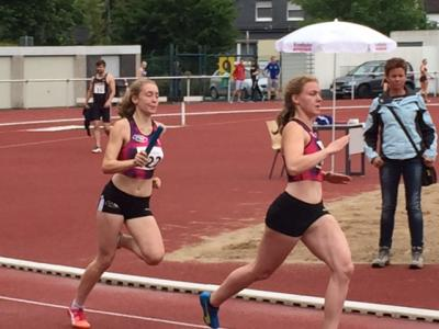 Foto zur Meldung: U20-Staffel läuft LAZ-Rekord