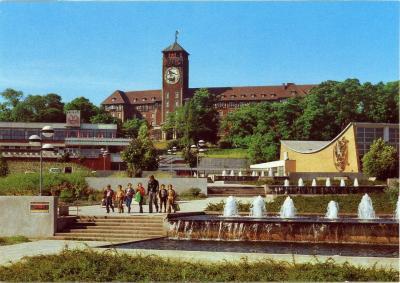Foto zur Meldung: Schwimmen, Politik und In-die-Ferne-blicken – der Brauhausberg im Wandel