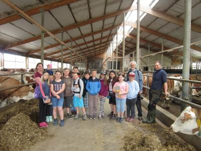 Foto zur Meldung: Auf dem Bauernhof in Unterwoltersgrün