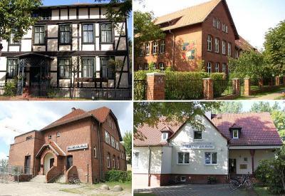 Die vier städtischen Kultureinrichtungen auf einen Blick.