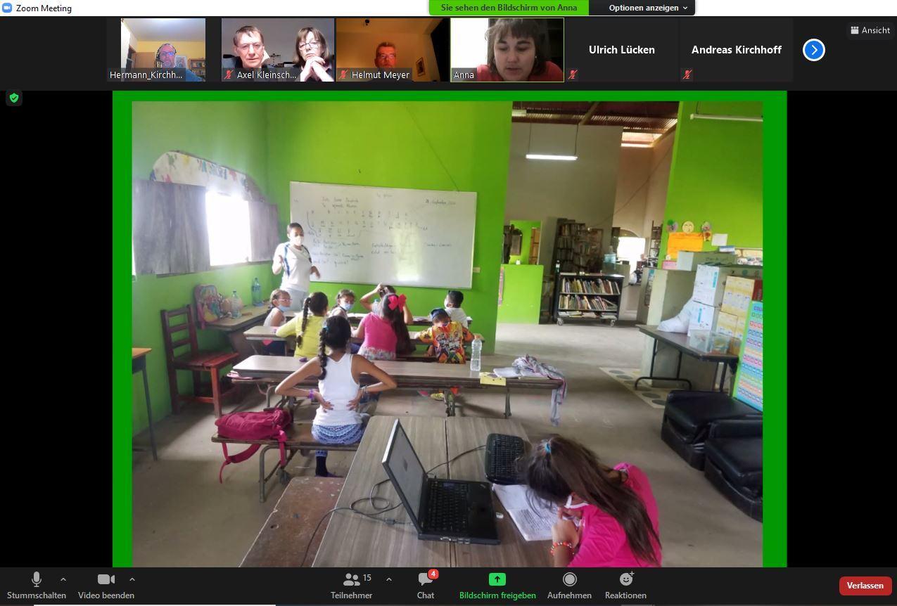 Arbeit in der Bibliothek in SFL - ein Screenshot