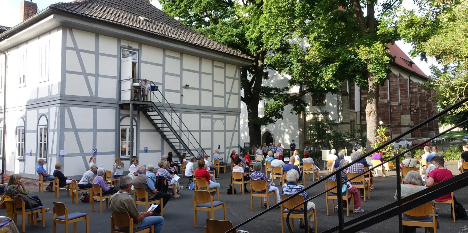 Open-Air-Gottesdienst Johannistag 2020