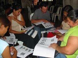 LehrerInnen-beim-Workshop