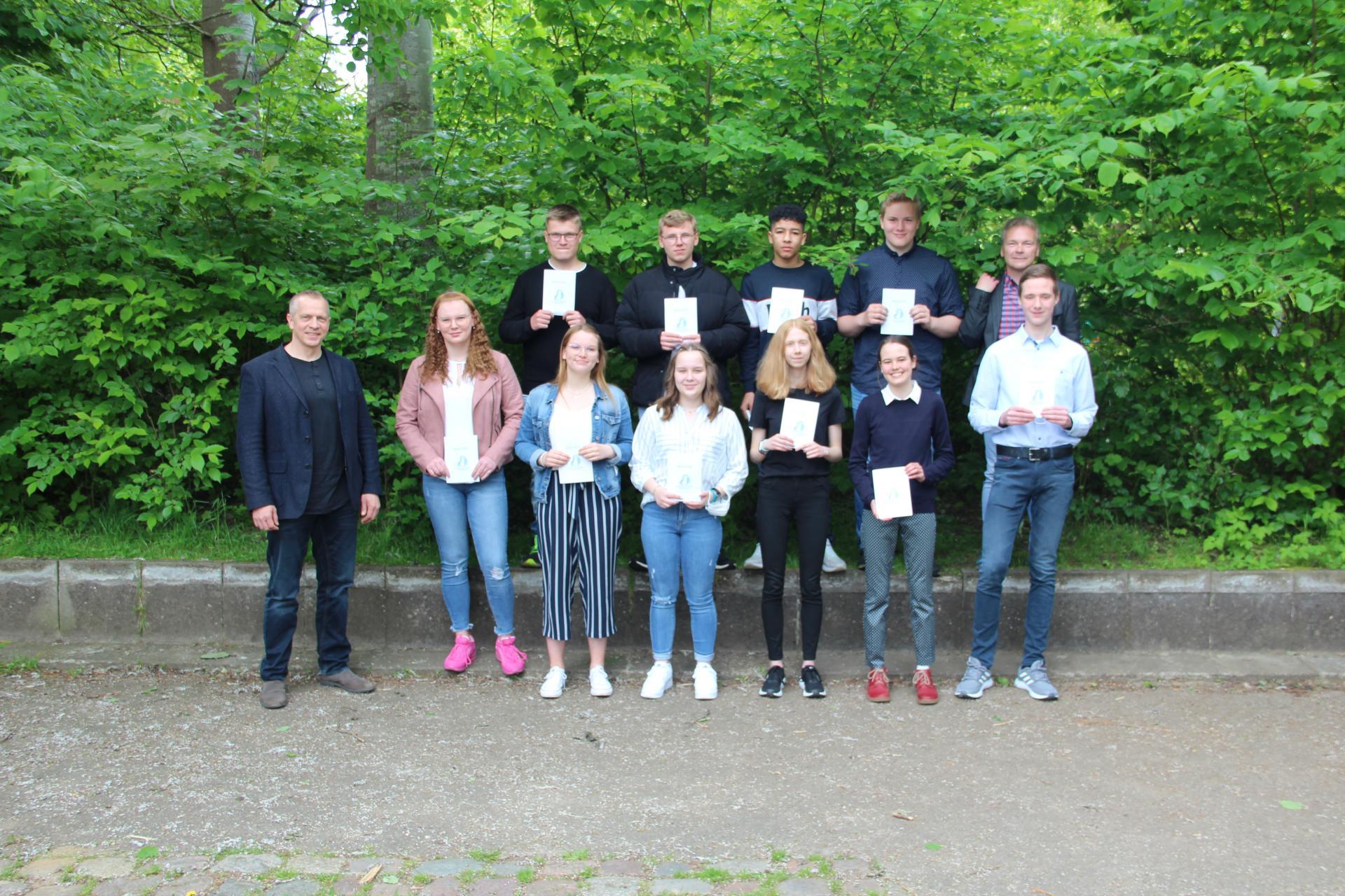 Beste Schüler der Ferdinand-Tönnies-Schule