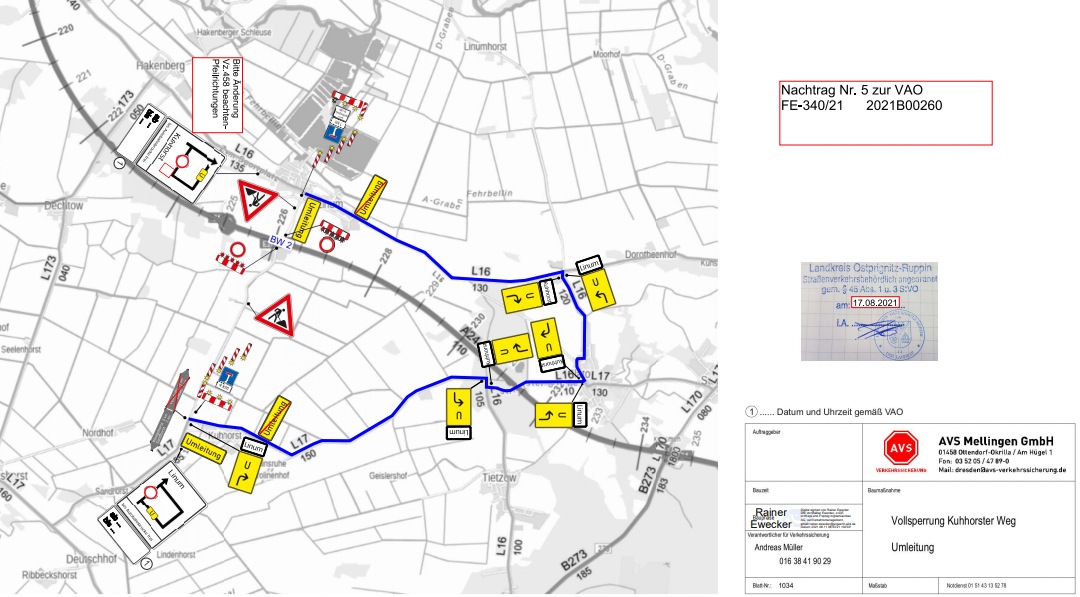 VZP Kuhhorster Weg, 17.09.21