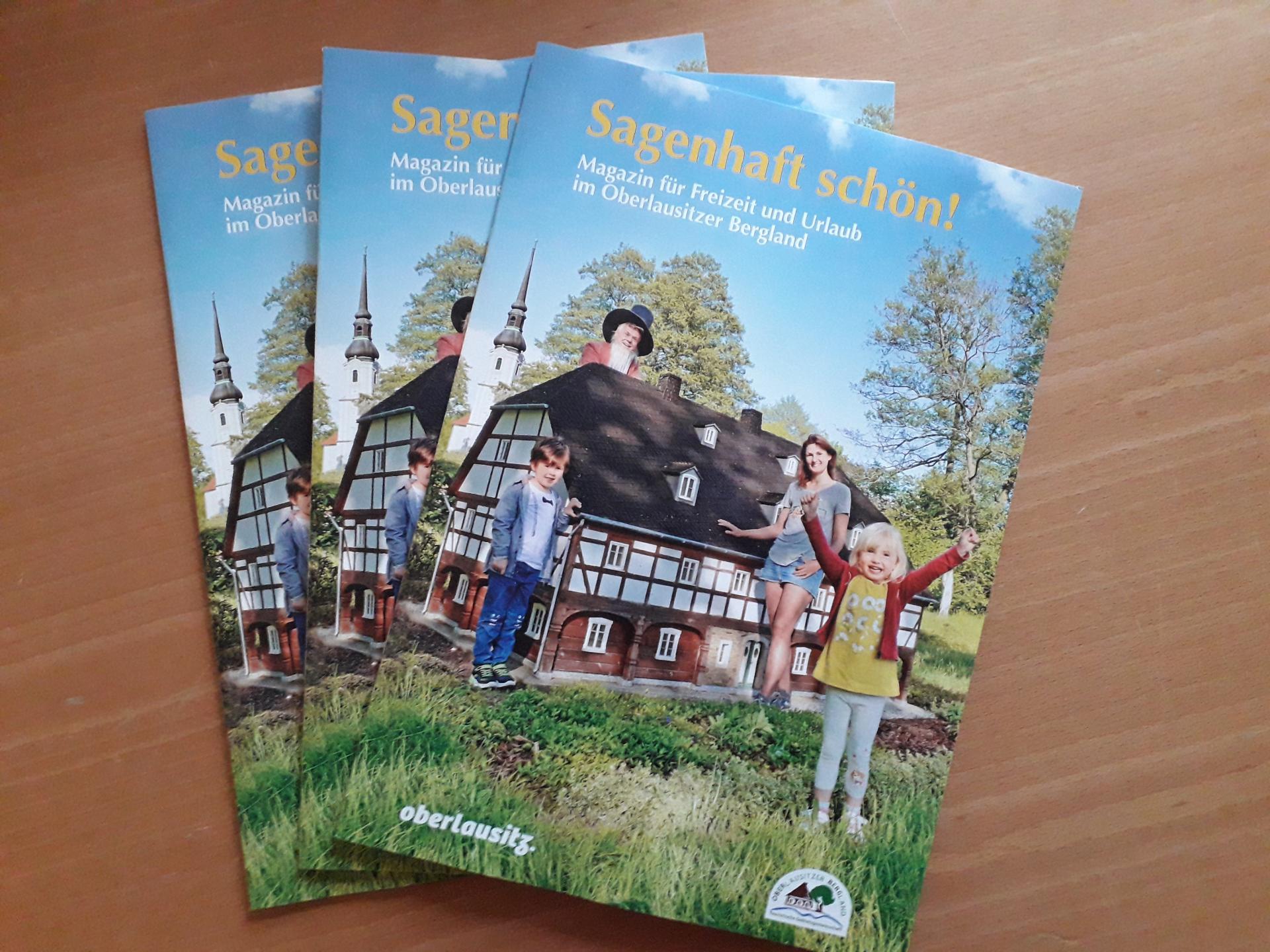 Broschüre Sagenhaft schön!