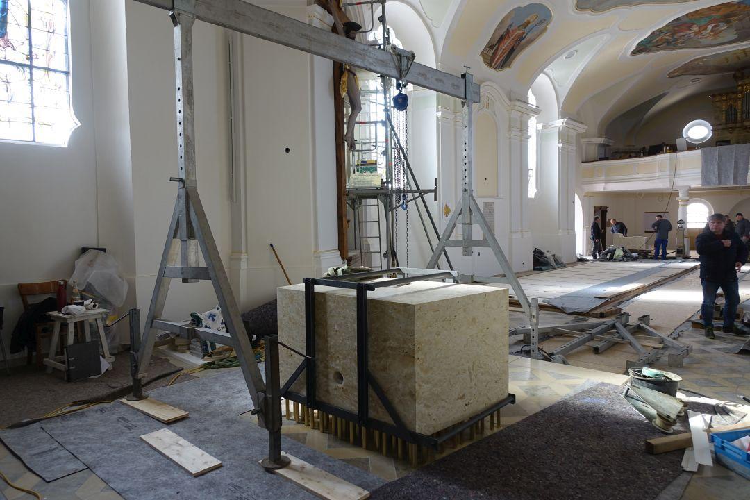 Neuer Altar Blaibach 4