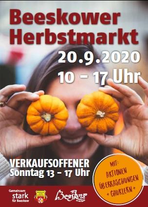 Herbstmarkt und Verkaufsoffener Sonntag