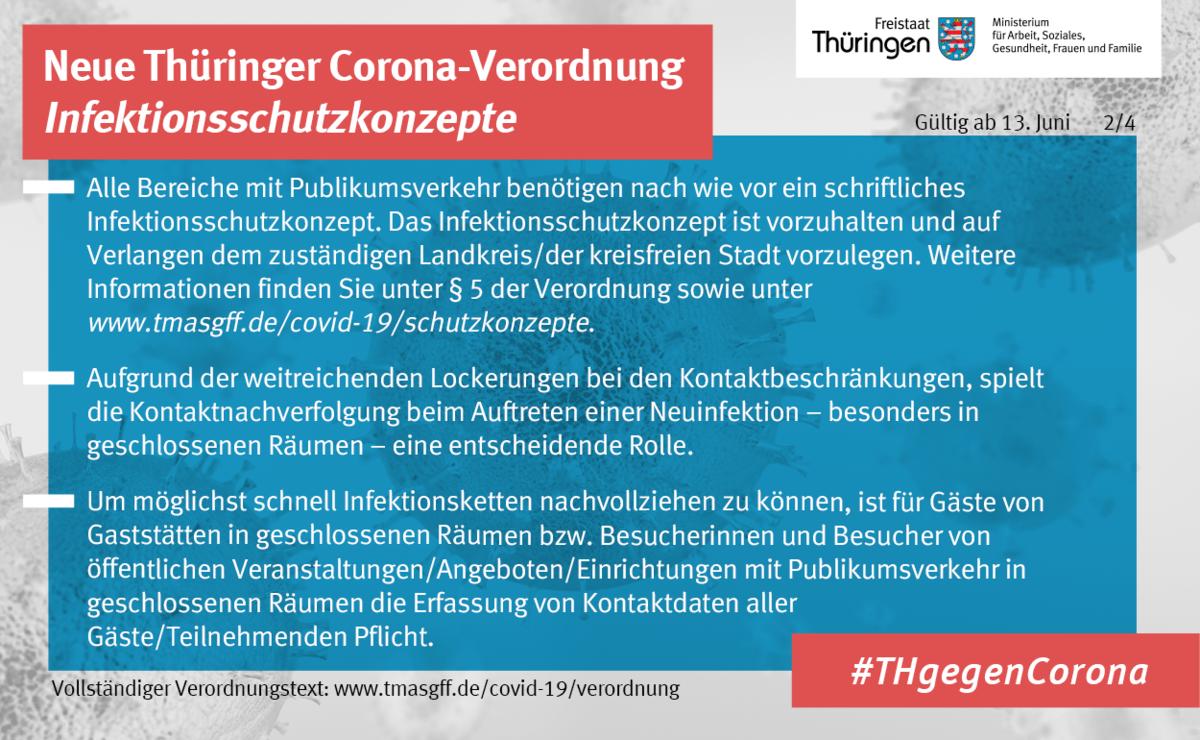 Thüringer Verordnung ab 13. Juni 2. Bild