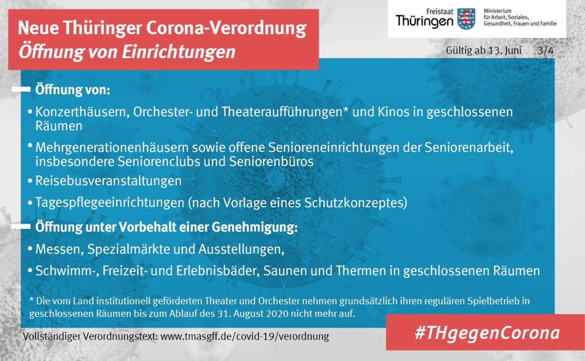 Thüringer Verordnung ab 13. Juni 3. Bild