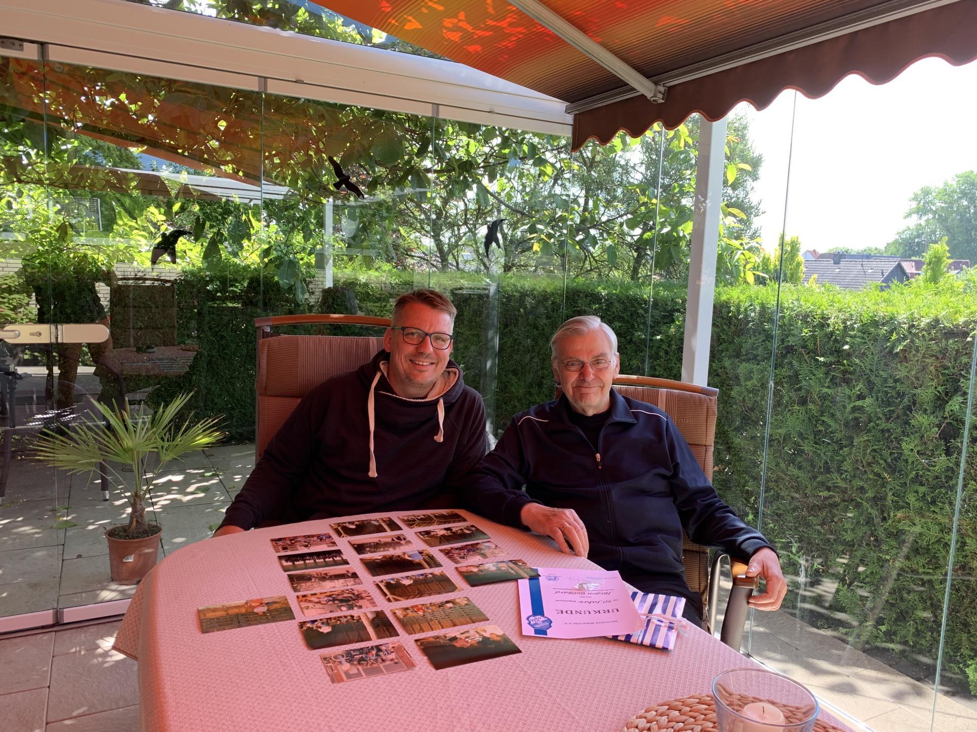 Zu Besuch bei Jürgen Gebhard - Aus einem kurzen Besuch entwickelte sich eine sehr schöne Zeitreise.