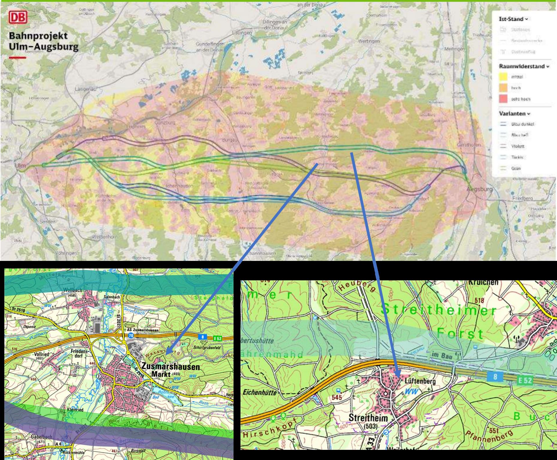 Planungen zum Bahnausbau