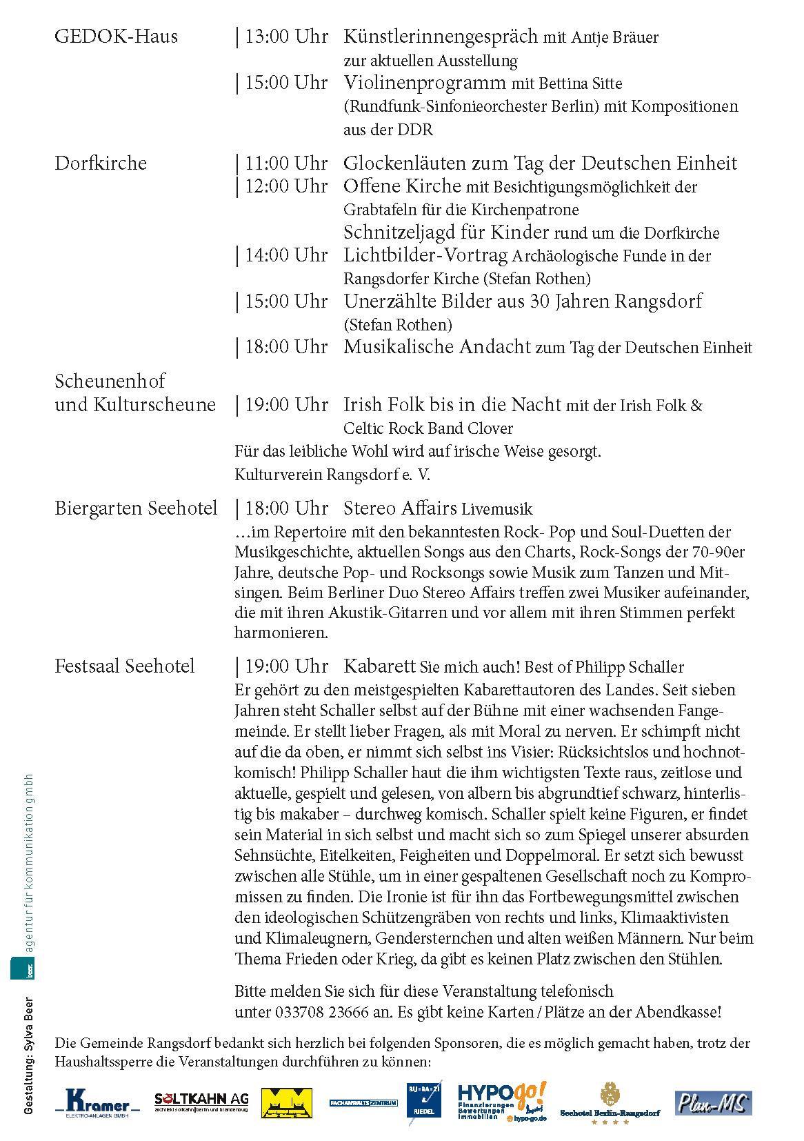 (C) Flyer- Programm 03.10.2020 - Seite 2