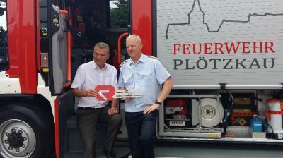 Foto zu Meldung: Feuerwehr Plötzkau