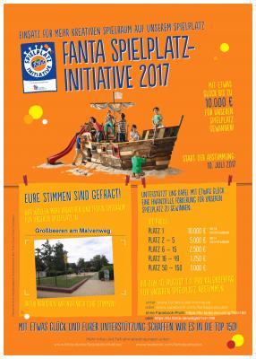 FANTA Spielplatz-Initiative 2017
