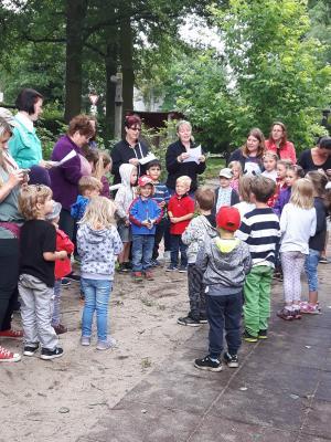 """Foto zur Meldung: Sommerfest in der """"Krümelkiste"""" in Bahrdorf"""