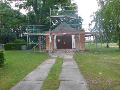 Vorschaubild zur Meldung: Sanierung der Trauerhalle in Grüna